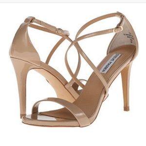 "STEVE MADDEN ""feliz"" patent leather heels"